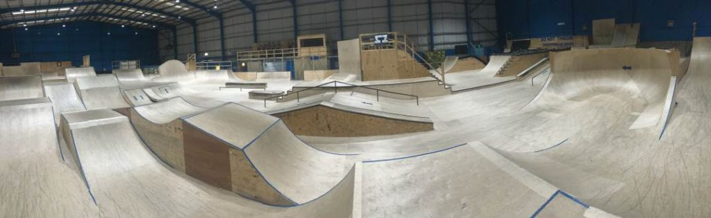 RampWorld Cardiff Small Jump Boxes.